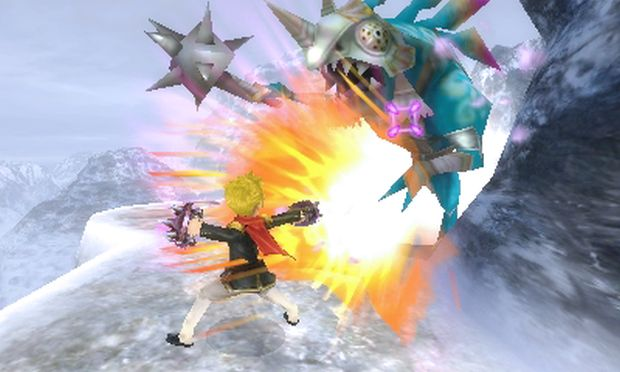 Final Fantasy Explorers Akademia Boy