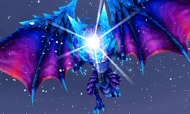 Final Fantasy Explorers Bahamut Eidolon