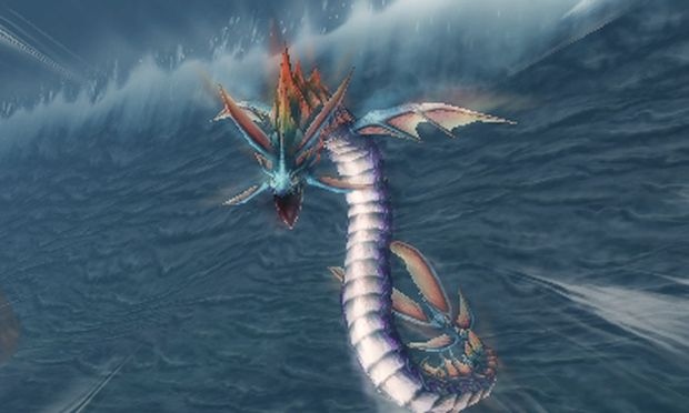 Final Fantasy Explorers Eidolon Leviathan