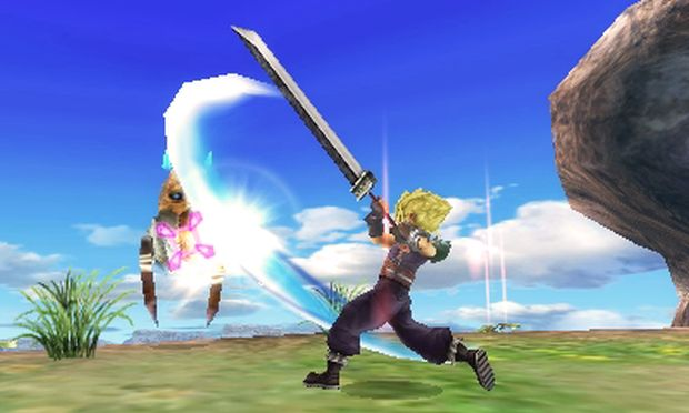 Final Fantasy Explorers Transe Cloud