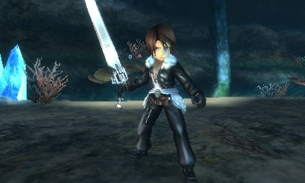Final Fantasy Explorers Transe Squall