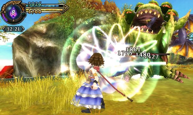 Final Fantasy Explorers Transe Yuna