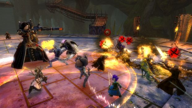 Guild Wars 2 Heart of Thorns Raid Screen 2