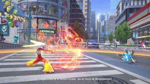 Pokkén Tournament Wii U Screen 1