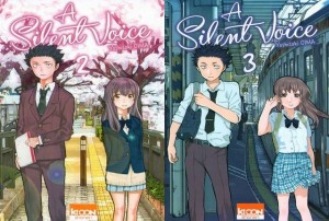 a silent voice tome 2 & 3 cover review critique
