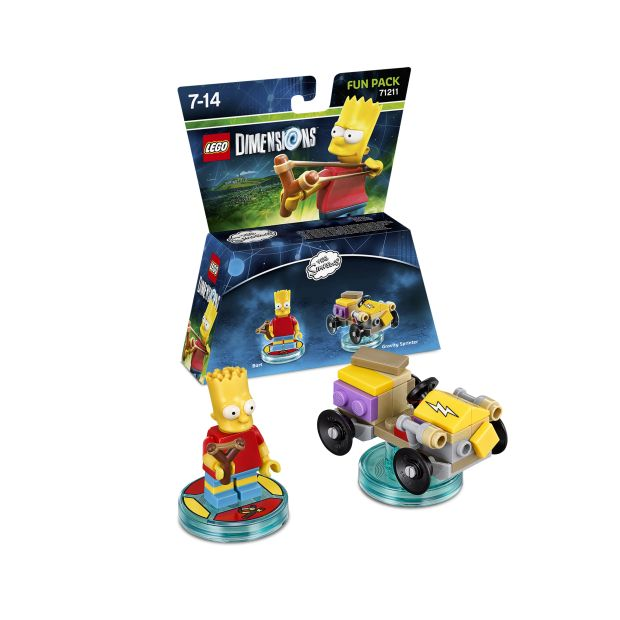 lego dimensions bart simpson packshot