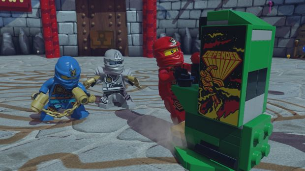 lego dimensions midway arcade screen 2