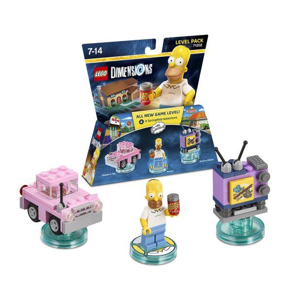 lego dimensions omer simpson packshot