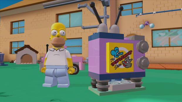 lego dimensions simpson screen 1