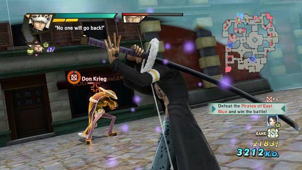 one piece pirate warriors 3 dressrosa screen 1