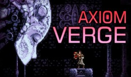 Axiom Verge Test Review Screen Logo