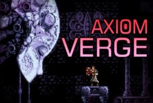 Axiom Verge Test Review Screen Logo
