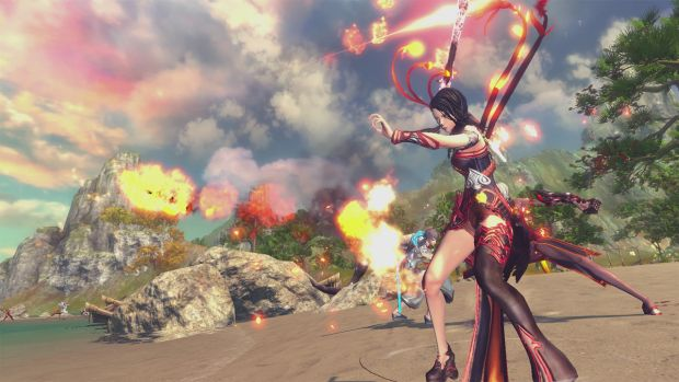 Blade & Soul closed beta screen 4