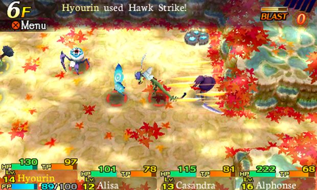 Etrian Mystery Dungeon Launch Screen 9