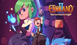 Evoland 2 Test Review Logo