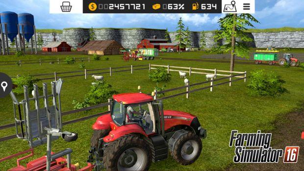 Farming Simulator 16 PS Vita screen 1