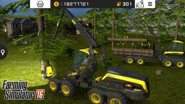 Farming Simulator 16 PS Vita screen 3