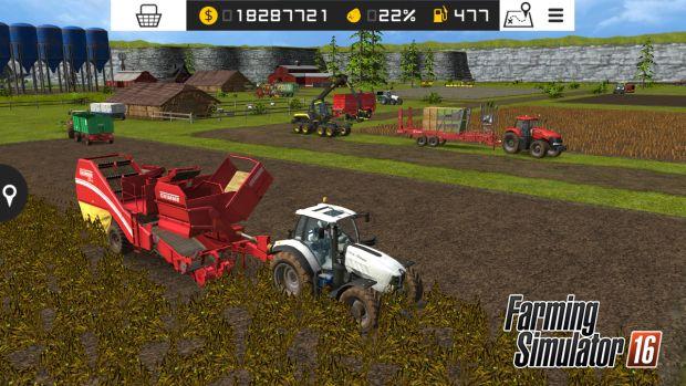Farming Simulator 16 PS Vita screen 4
