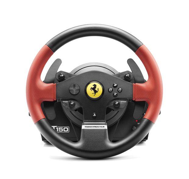 Ferrari T150 force feedback thrustmaster