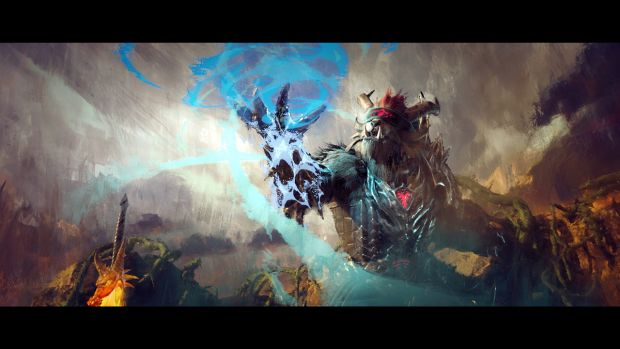 Guild Wars 2 Heart of Thorns Launch Screen artwork