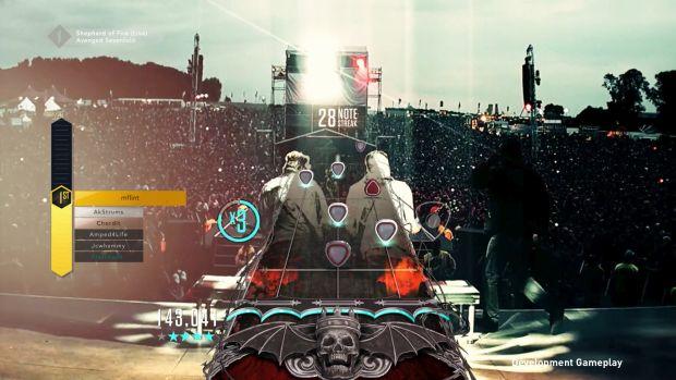 Guitar Hero Live Avenged Sevenfold Screen 1