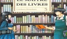 Le maitre des livres tome 3 critique seinen logo