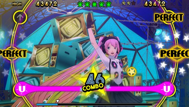 Miku Persona 4 dancing all night screen 6