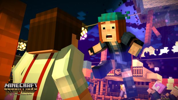 Minecraft Story Mode Screen 1