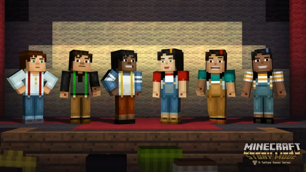 Minecraft Story Mode Screen 3