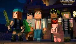 Minecraft Story Mode Screen Logo