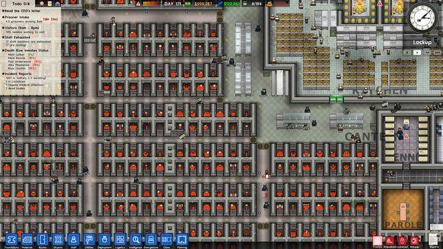 Prison architect screen 3