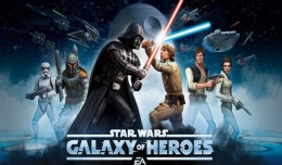 Star Wars Galaxy Heroes Screen logo
