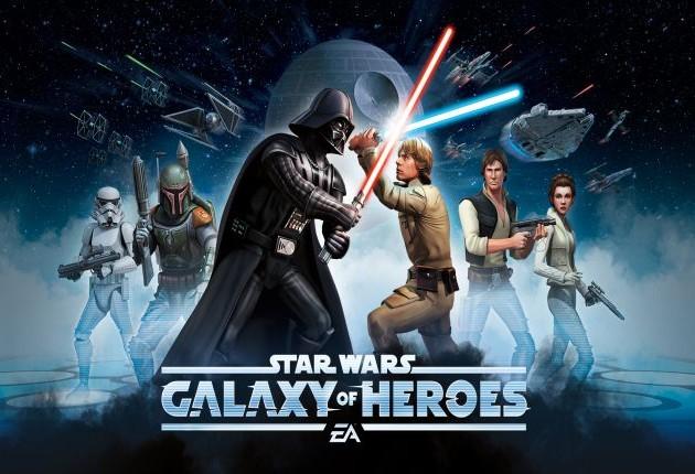 Star Wars Galaxy Heroes Screen logo