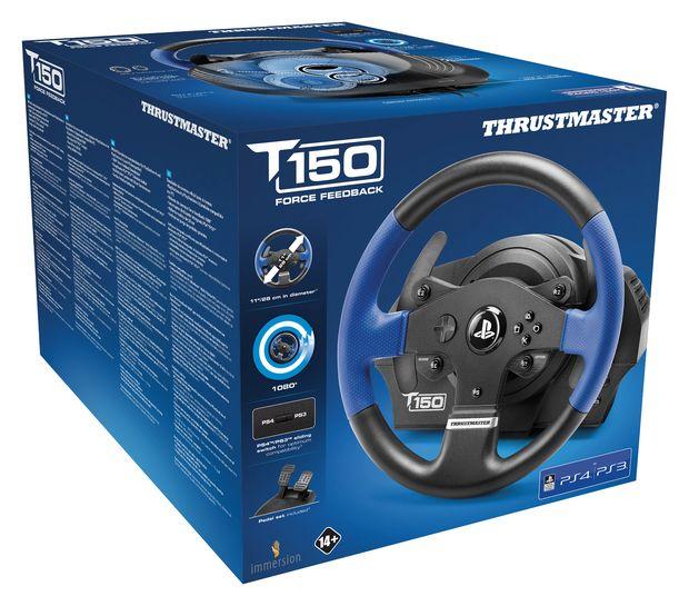 T150 force feedback thrustmaster packshot