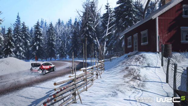 WRC 5 Rallye Launch Screen 1