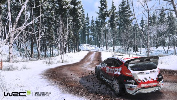 WRC 5 Rallye Launch Screen 2
