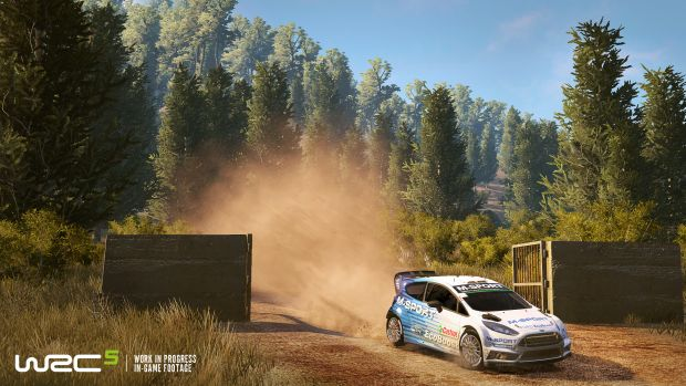 WRC 5 Rallye Launch Screen 3