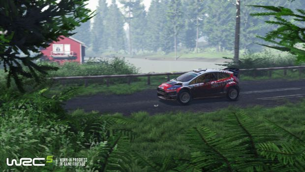 WRC 5 Rallye Launch Screen 4
