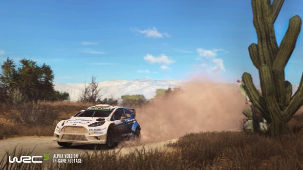 WRC 5 Rallye Launch Screen 5
