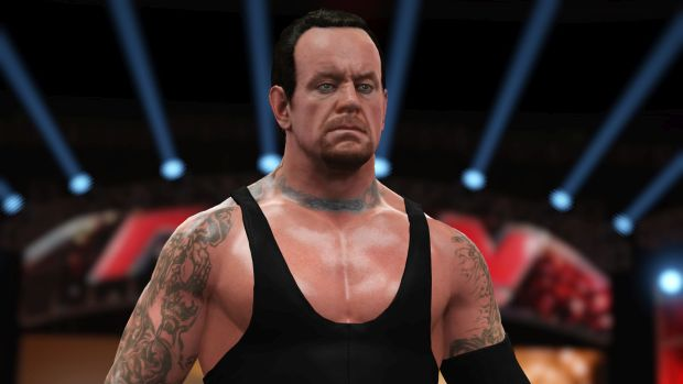 WWE 2K16 roster screen 1