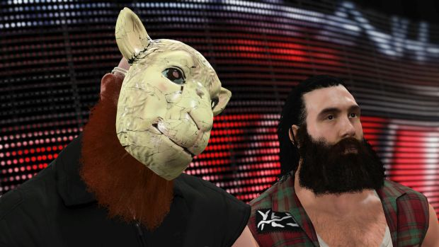 WWE 2K16 roster screen 2