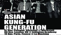 asian kung fu generation tournée b7klan