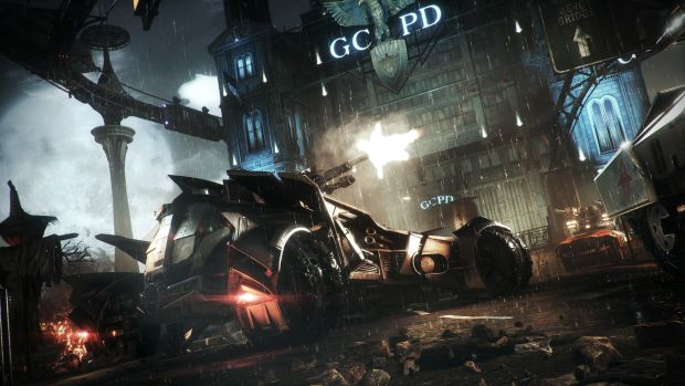 batman arkham knight tumbler batmobile pack screen 2