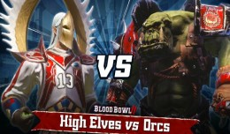 blood bowl 2 orcs elves logo