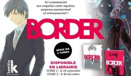 border tome 1 & 2 komikku