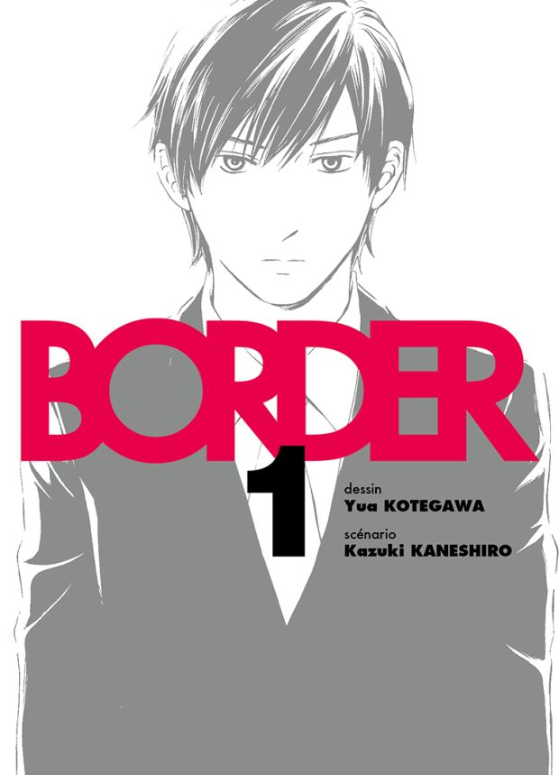 border tome 1 komikku cover