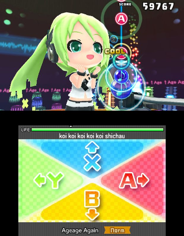 hastune miku project mirai dx screen 4