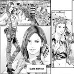 Naoki Serizawa a un don pour dessiner de superbes jeunes femmes de façon réaliste... Claire est sublime!