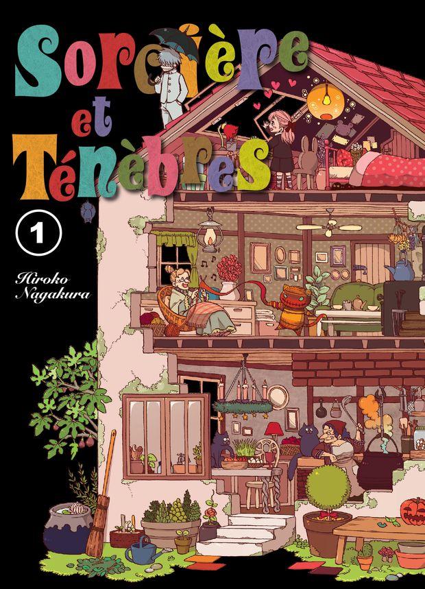 sorcière et ténèbres komikku tome 1 cover