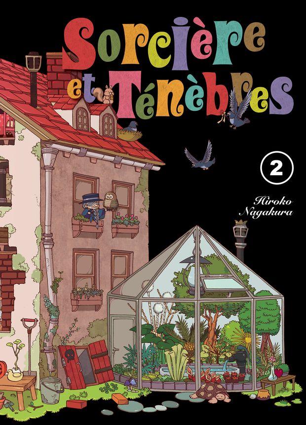 sorcière et ténèbres komikku tome 2 cover